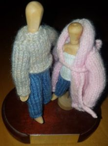 Handmade Fitting in Knitting Children Happy Anniversary Gift