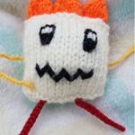 Handmade Knitted Monster Caitlin Dancing Fitting in Knitting Children Quick Craft Ideas