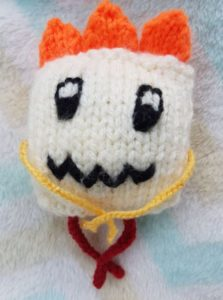 Handmade Knitted Monster Caitlin Wee Fitting in Knitting Children Quick Craft Ideas
