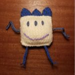 Handmade Knitted Monster Knitty Fitting in Knitting Children Quick Craft Ideas