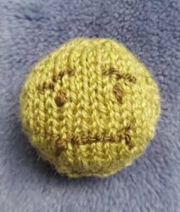 Handmade Knitted Nauseated Emoji Fitting in Knitting Children Quick Craft Ideas