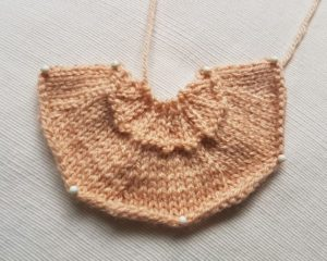 Handmade Bakewell Pastry Fitting in Knitting Children Craft Ideas