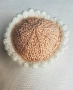 Handmade Cupcake Fitting in Knitting Children Craft Ideas