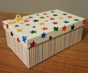 Handmade Gifting Box Fitting in Knitting Children Craft Ideas