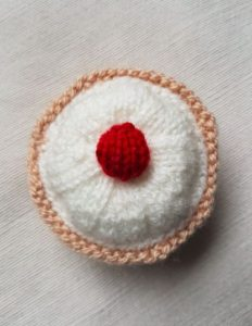 Handmade Bakewell Top View Fitting in Knitting Children Craft Ideas