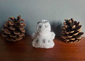 Handmade Knitted Angel Fitting in Knitting Children Craft Ideas