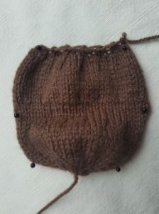 Handmade Knitted Reindeer Daddy Body Piece Fitting in Knitting Children Quick Craft Ideas