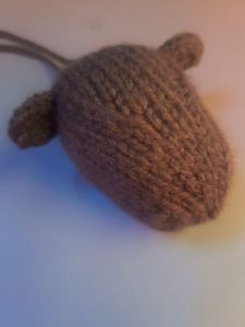 Handmade Knitted Reindeer Daddy Head Ears Fitting in Knitting Children Quick Craft Ideas