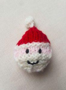 Handmade Knitted Santa Head Fitting in Knitting Children Quick Craft Ideas