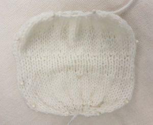 Handmade Knitted Unicorn Body Piece Fitting in Knitting Children Craft Ideas