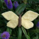 Handmade Knitted Butterfly in Hebe Fitting-in-Knitting