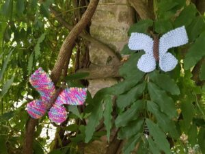 Handmade Knitted Butterfly Quick Fitting-in-Knitting