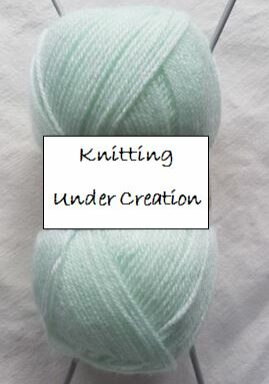 Handmade Knitting under Creation Fitting in Knitting Children Craft Ideas